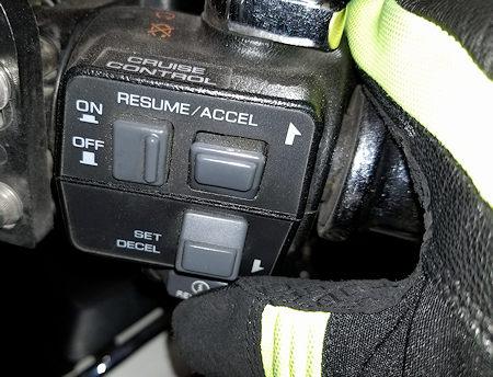 Pressing Starter Button