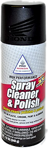 Pro Honda Spray Cleaner and Polish