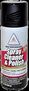 Pro Honda Spray Cleaner and Polish