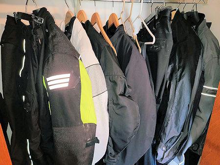 Riding Gear in Closet
