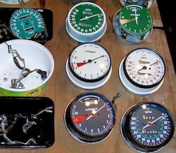 GL1000 Speedometer and Tachometer Faces
