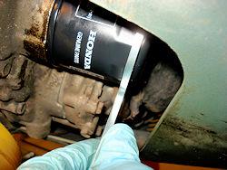 Stubborn Oil Filter