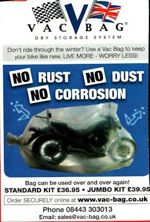 A Sealed Vacuum-Bag for your Bike