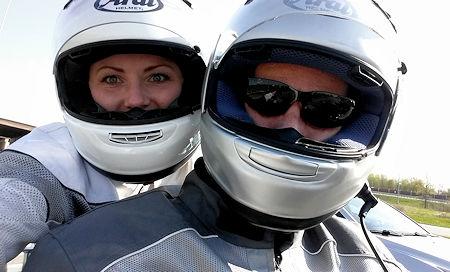 Riding with Mrs. Wingadmin