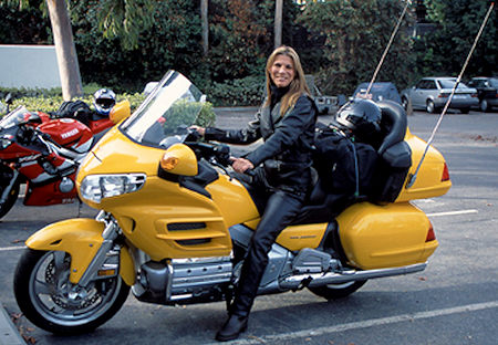 Woman Riding GL1800
