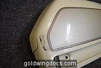 GL1500 Left saddlebag lid