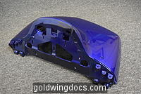 GL1800 Trunk lid cover