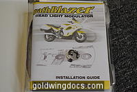 Kisan PathBlazer Headlight Modulator for GL1500